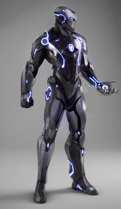 I thought that considering my target audience was boys the tron outfits might be seen as slightly feminine and thought the iron man suits might be more appealing