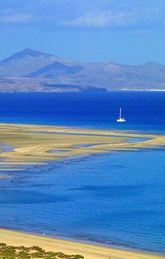 Playa de Sotavento, Fuerteventura, Canary Islands