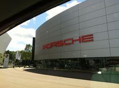Porsche Museum in Stuttgart, Baden-Württemberg