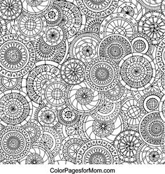 Free Printable Colouring Page For Adults.