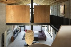 Image 13 of 18 from gallery of Anzac Bay House / Vaughn McQuarrie. Photograph by Simon Devitt Residential Architecture, Interior Architecture, Interior Decorating, Interior Design, Modern Interior, Home Art, Small Spaces, House Design, Furniture