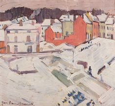 Pierre-Jean Maurel - dutch-and-flemish-painters:  afroui:  Jean Brusselmans  Village...