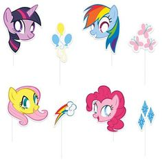 Browse My Little Pony Photo Booth Props and other party supplies. The most popular party Supplies and Decorations, all available at wholesale prices!  $2.99