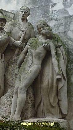 Paris, monument aux morts de Passy par Paul Landowski