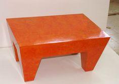 Cardboard Furnitures Do-It-Yourself Ideas Recycled Cardboard