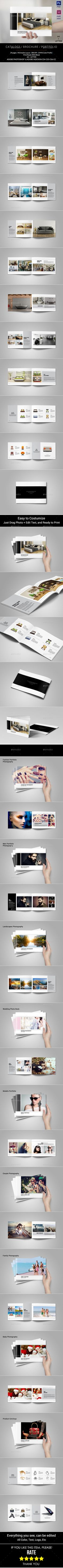 Portfolio Brochure Template #design Download: http://graphicriver.net/item/portfolio-brochure-template/12650518?ref=ksioks