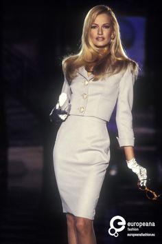 Karen Mulder - Atelier Versace, Spring-Summer 1995, Couture