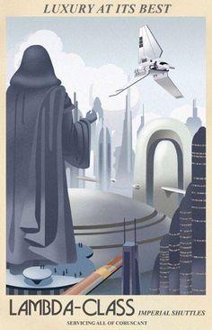 Lambda Shuttle - Art Deco