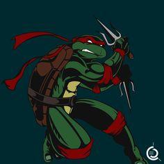 Raphael - Teenage Mutant Ninja Turtles - Kevin Eastman http://www.cosplayfrance.fr/character/raphael.html