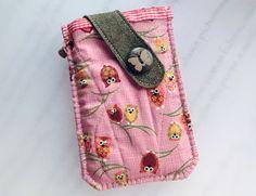 iPhone,Samsung, HTC, Nokia, LG - Owls Pouch  from Lily's Handmade - deseo 2 regalos hechos a mano, tarjetas, encantos, bolsas, cajas, artículos de papel by DaWanda.com