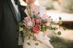 Krystal + Josh's Joshua Tree Ruins Wedding : Caleb John Hill