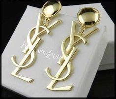 Amazing Yves Saint Laurent earrings! Love them!