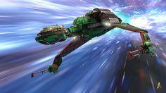 LEGO fan spends 6 years perfecting Klingon Bird of Prey