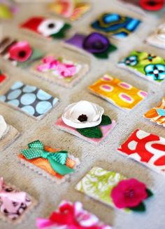 This is so cute and a great crafting idea with left over fabric scraps