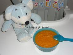 La Magia de Sonia: Pavo con Calabaza y Zanahorias. Bebés.