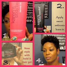 We love @Curlisle's beautiful style w/KBB Luscious Locks Hair Mask, Sweet Ambrosia Leave-in Conditioner and Hold It Hair Gel w/Argan Oil! Watch her wash and go video w/KBB: https://www.youtube.com/watch?v=lIe_b7p8_S0 #naturalhair #TeamNatural