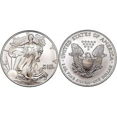 American Silver Eagle 1 oz 0.9999 pure  #Silver  #401K #IRA #Investing #Bullion #regal_assets_review #Regal_Assets