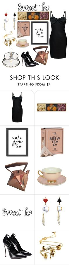 """""""Tea Time"""" by heidibartholdy on Polyvore featuring Choi Time, Americanflat, Les Néréides and Lauren Dickinson Clarke"""