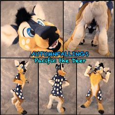 Toony deer by Autumnfallings Costumes and Character Design (homepage)
