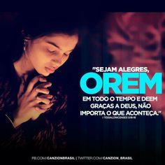 Oração!