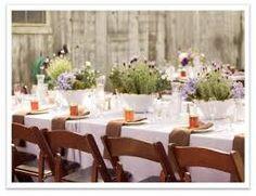 wedding rustic centre pieces - Google Search
