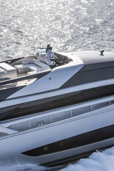 The 122' Mythos super yacht: Riva Yachts' new flagship - to discover : www.themilliardaire.co