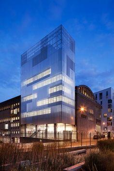 Antonini Darmon architects, Luc Boegly · Voltaire Building