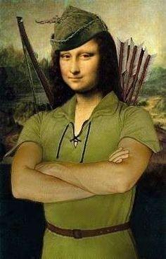 Monnalisa Kids, Mona Lisa Portrait, Monet, La Madone, Mona Lisa Parody, Mona Lisa Smile, Hokusai, Famous Artwork, Funny Art