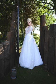 Vintage Bridal Gown - Winter Wedding Inspiration