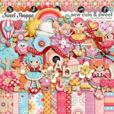 Sew Cute And Sweet by Jady Day Studio. $6.99