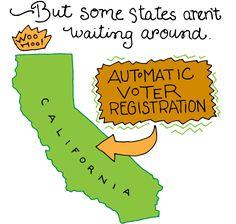California Has Automatic Voter Registration