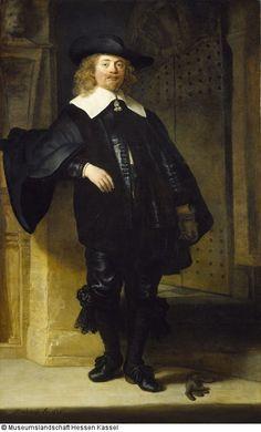 Bildnis eines stehenden Herrn in ganzer Figur Künstler: Rembrandt Harmensz. van Rijn (1606 - 1669) Datierung: 1639