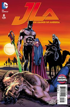 *High Grade* (W) Bryan Hitch (A) Bryan Hitch, Daniel Henriques (CA) Neal Adams With Earth as collateral damage, the Kryptonian deity called Rao has the Justice League on the ropes! It would take a mir