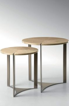 Tolomeo' side tables for Fendi Casa, 2014 Collection, Luxury Living Group … Design Furniture, Metal Furniture, Table Furniture, Contemporary Furniture, Luxury Furniture, Home Furniture, Side Coffee Table, Metal Side Table, Fendi Casa