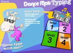 Dance Mat Typing - Free Online Typing Lessons for Kids Intj, Alone, Teaching Kids, Kids Learning, Teaching Tools, Teaching Resources, Bbc Schools, Learn To Type, Online Typing