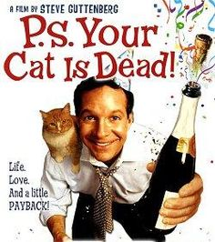 Win a copy of the comedy--p.s. Your Cat Is Dead! on dvd