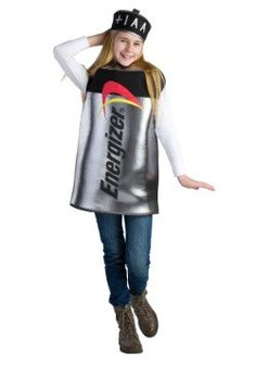 Kid's Energizer Battery Costume