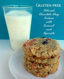 *Rook No. 17: recipes, crafts & whimsies for spreading joy*: The Best Gluten Free Cookies ~ Oatmeal Chocolate Chip with Coconut & Apricot