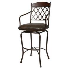 Pastel Furniture Napa Ridge Swivel Barstool