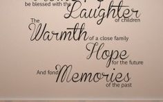 Family Quotes Wall Stickers Uk