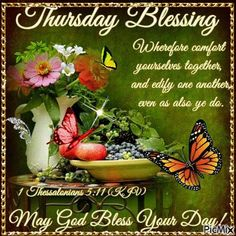 May God shower you with favor renewed strength and brand new mercies! May God shower you with favor renewed strength and brand new mercies! Thursday Gif, Happy Thursday Morning, Thursday Greetings, Good Morning Thursday, Thursday Quotes, Thankful Thursday, Good Morning Happy, Good Morning Greetings, Morning Pics