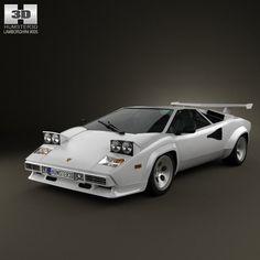 Perfect C4d Lamborghini Countach 5000 Awesome Ideas