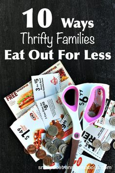 Love to eat out but on a tight budget? Here are 10 ways to save money on eating out as a family.