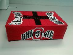 Plastic canvas Ohio state by Orva