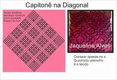 Jaqueline Alves: Gráfico Capitonê na Diagonal