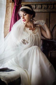 Portrait, Victorian, Bride, Wedding, Dresses, Fashion, Valentines Day Weddings, Gowns, Moda