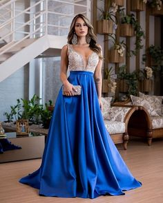 Satin Dresses, Blue Dresses, Gowns, Beaded Prom Dress, Strapless Dress Formal, After School, Prom Dresses Long With Sleeves, Bridesmaid Dresses, Wedding Dresses