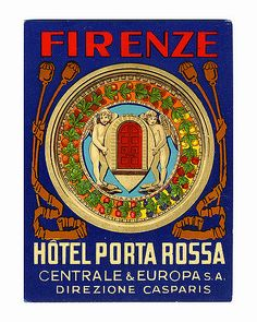 ITALY Florence Firenze 1930