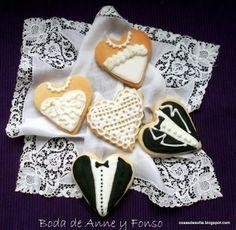 Cosas de Sofía: Galletas de boda