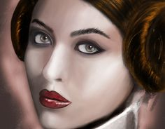 "Check out new work on my @Behance portfolio: ""My GF as Leia"" http://be.net/gallery/32969147/My-GF-as-Leia"